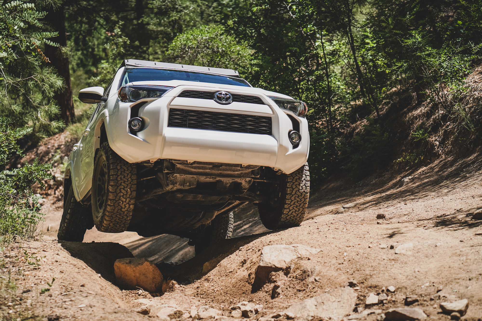 Modified Toyota 4Runner with Ironman Suspension