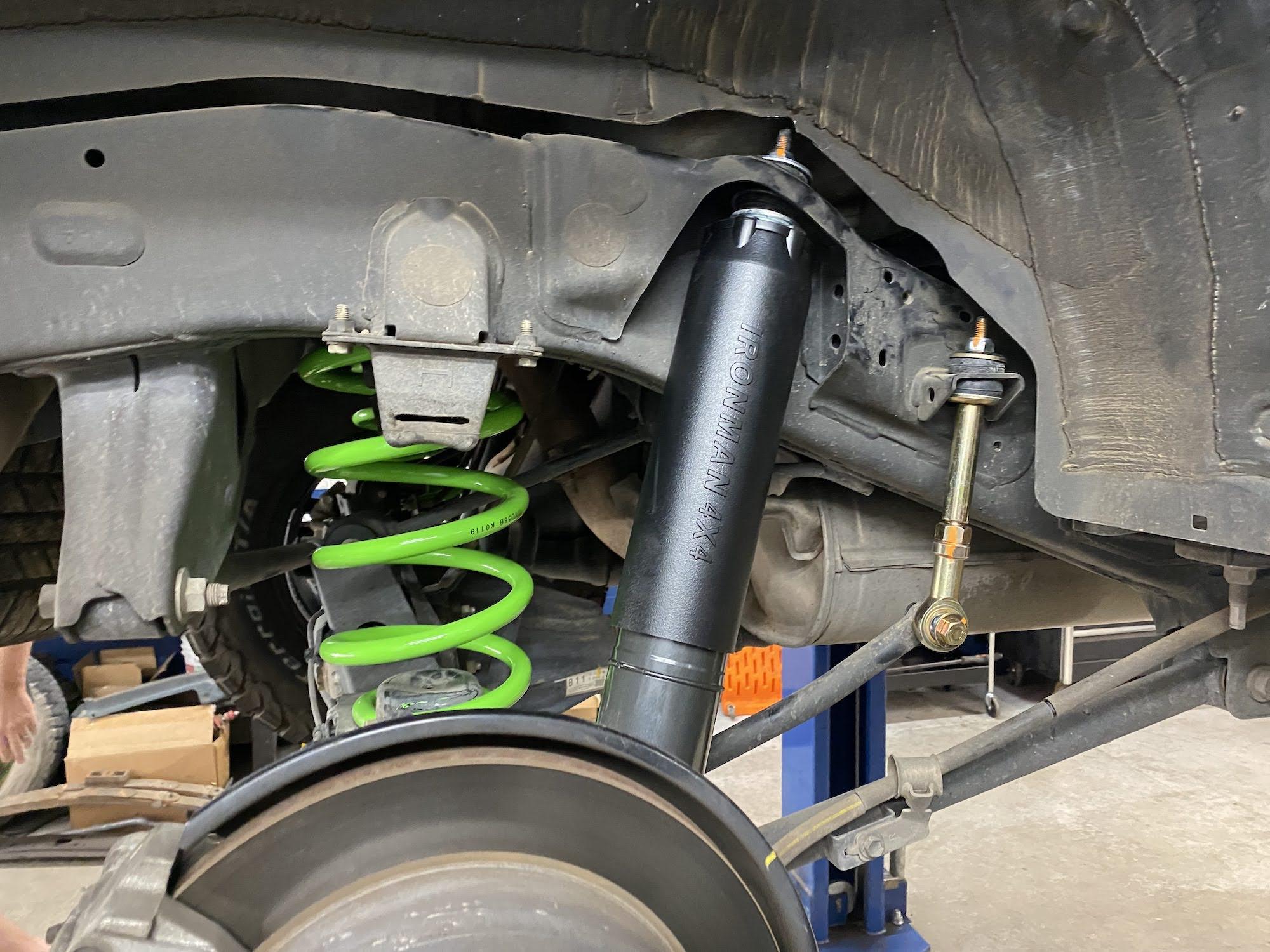 ironman rear suspension 4Runner