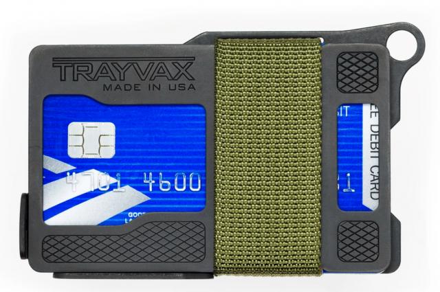 Trayvax summit armored wallet