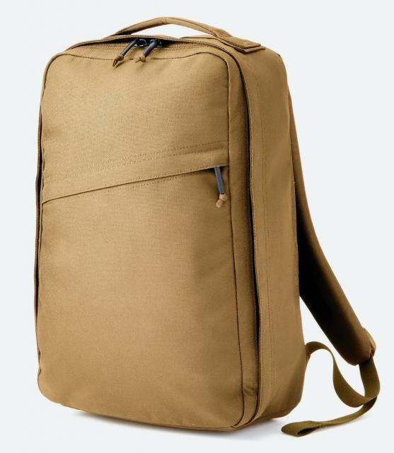 Huckberry and Goruck backpack