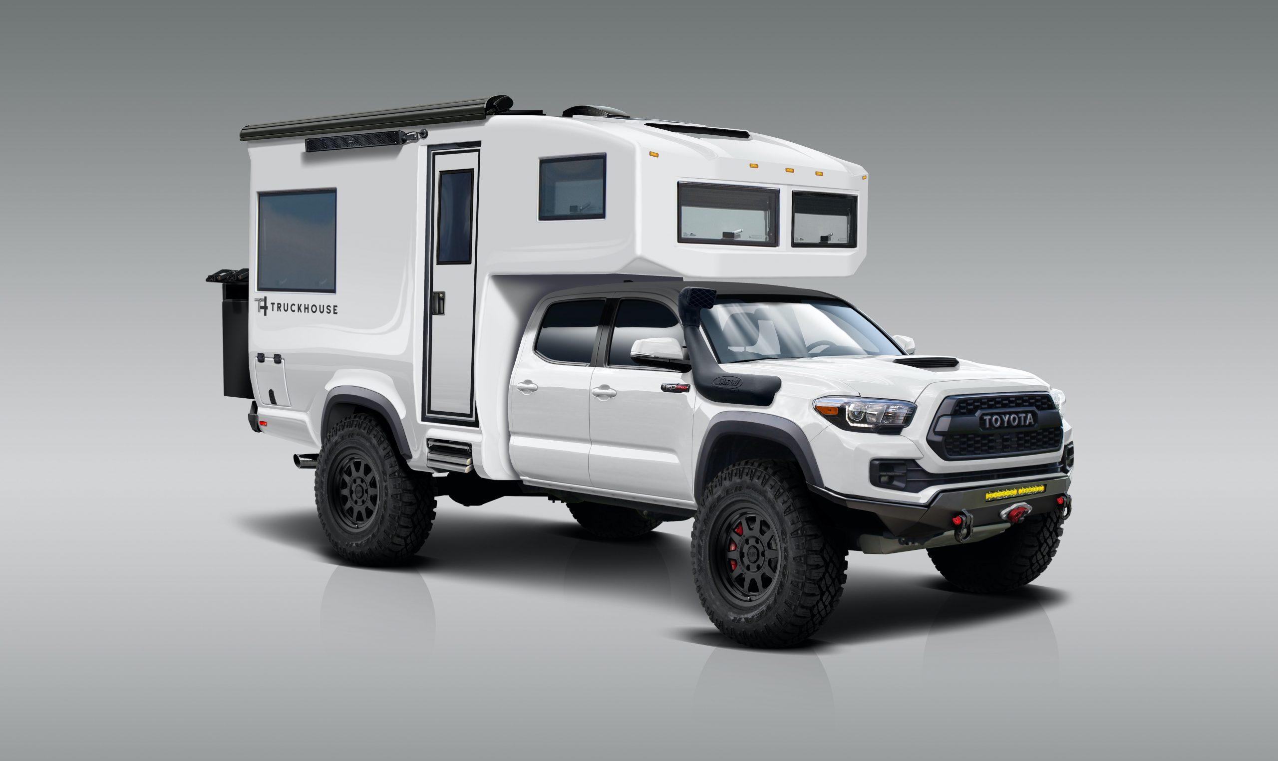truckhouse bct toyota tacoma expedition vehicle
