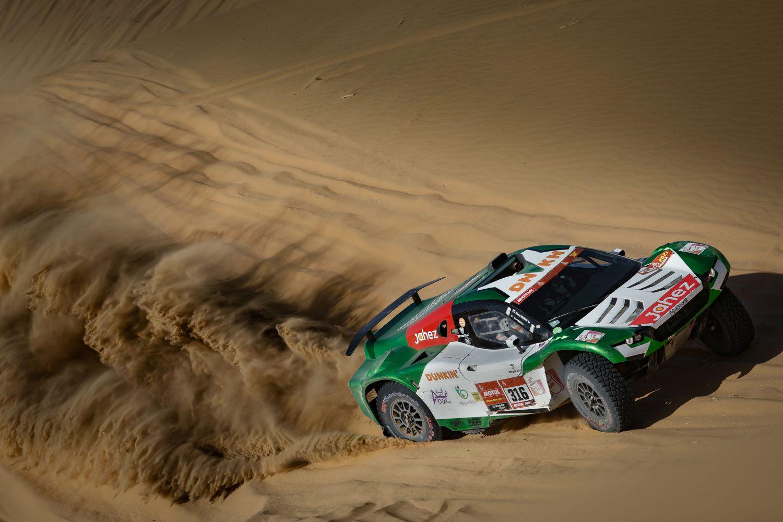 Justin W. Coffey Dakar Rally 2021