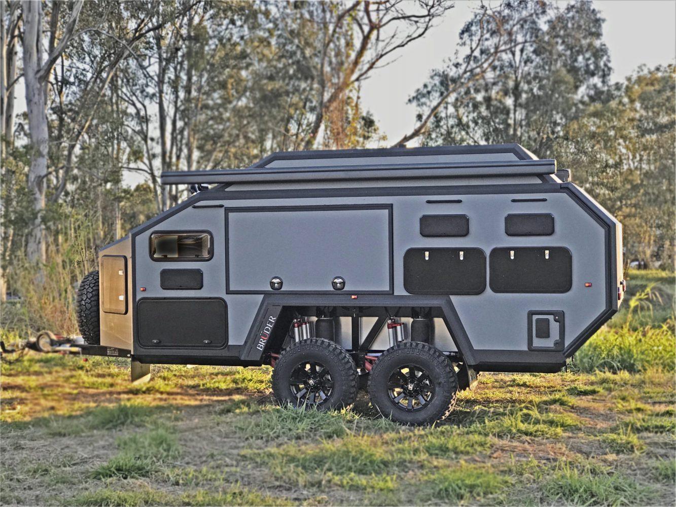 bruder overland trailer