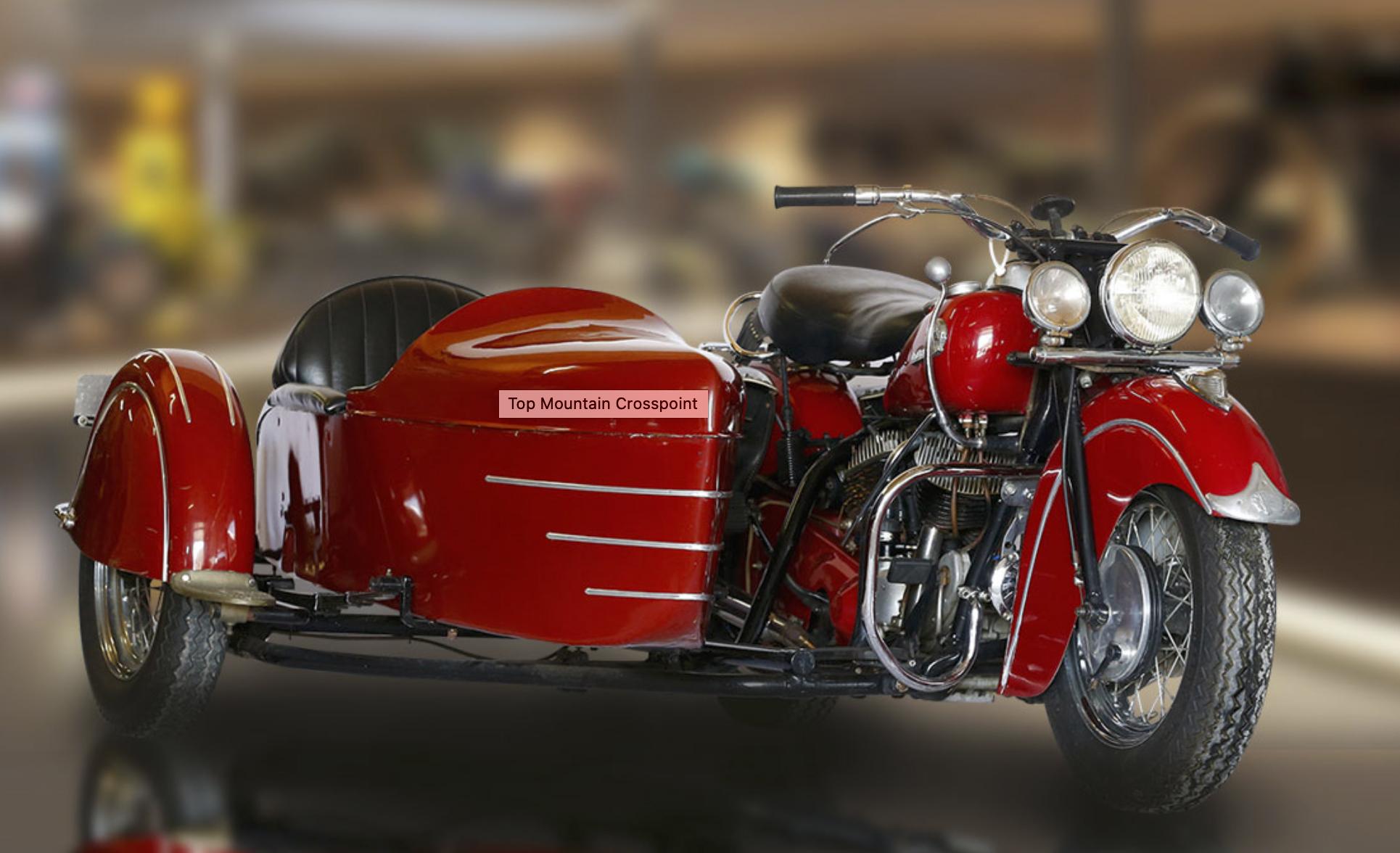 Top Mountain Motorcycle Museum vintage motorcycle 2