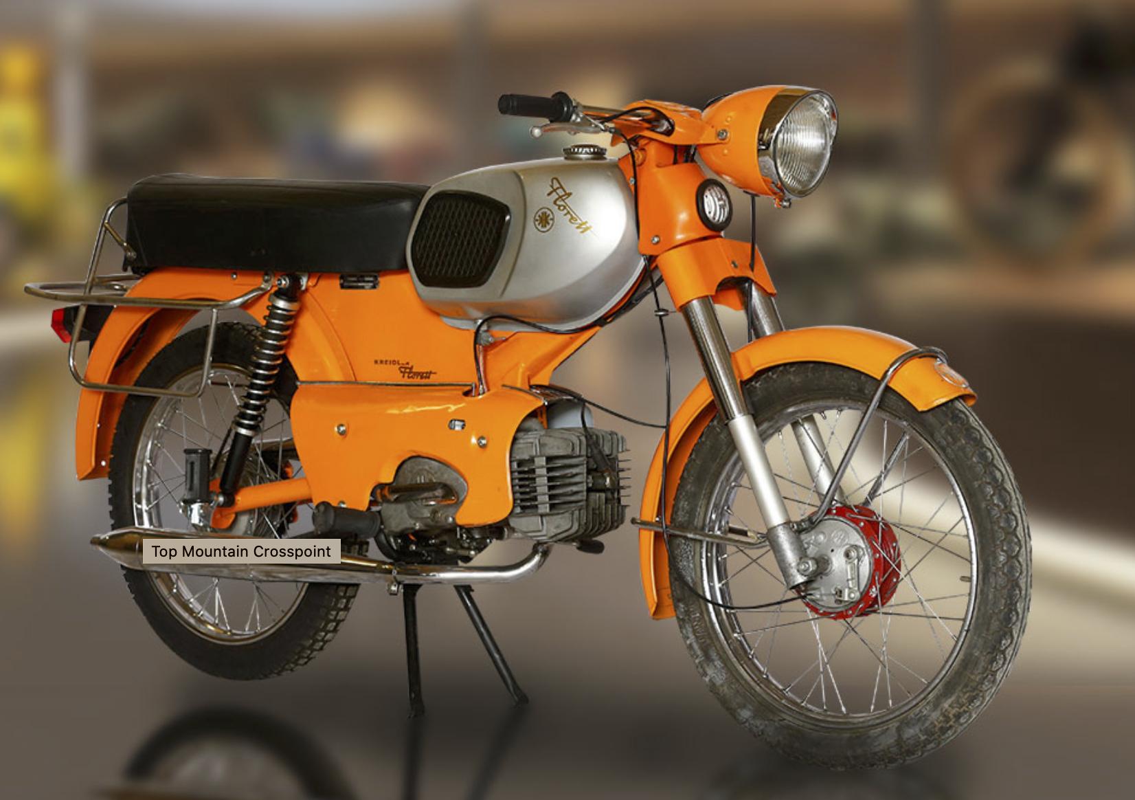 Top Mountain Motorcycle Museum vintage motorcycle 1