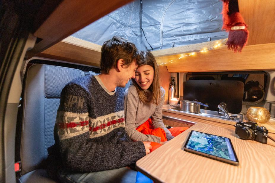 nissan winter concept campervan