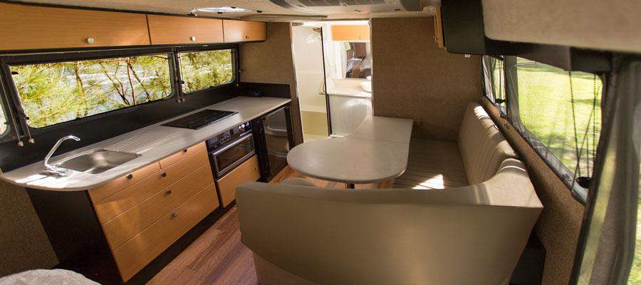 kimberley kruiser s overland trailer interior