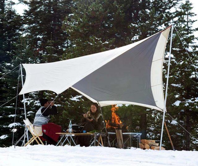snow peak takibi tarp overland news of the week
