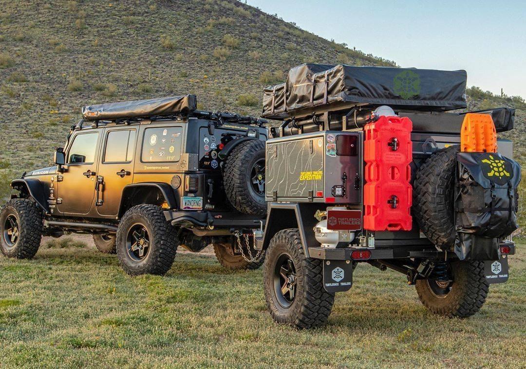 best overland trailer turtleback trailers