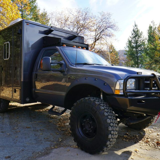 Overland Classifieds :: Custom F450 Superduty 4×4 Ambulance Conversion