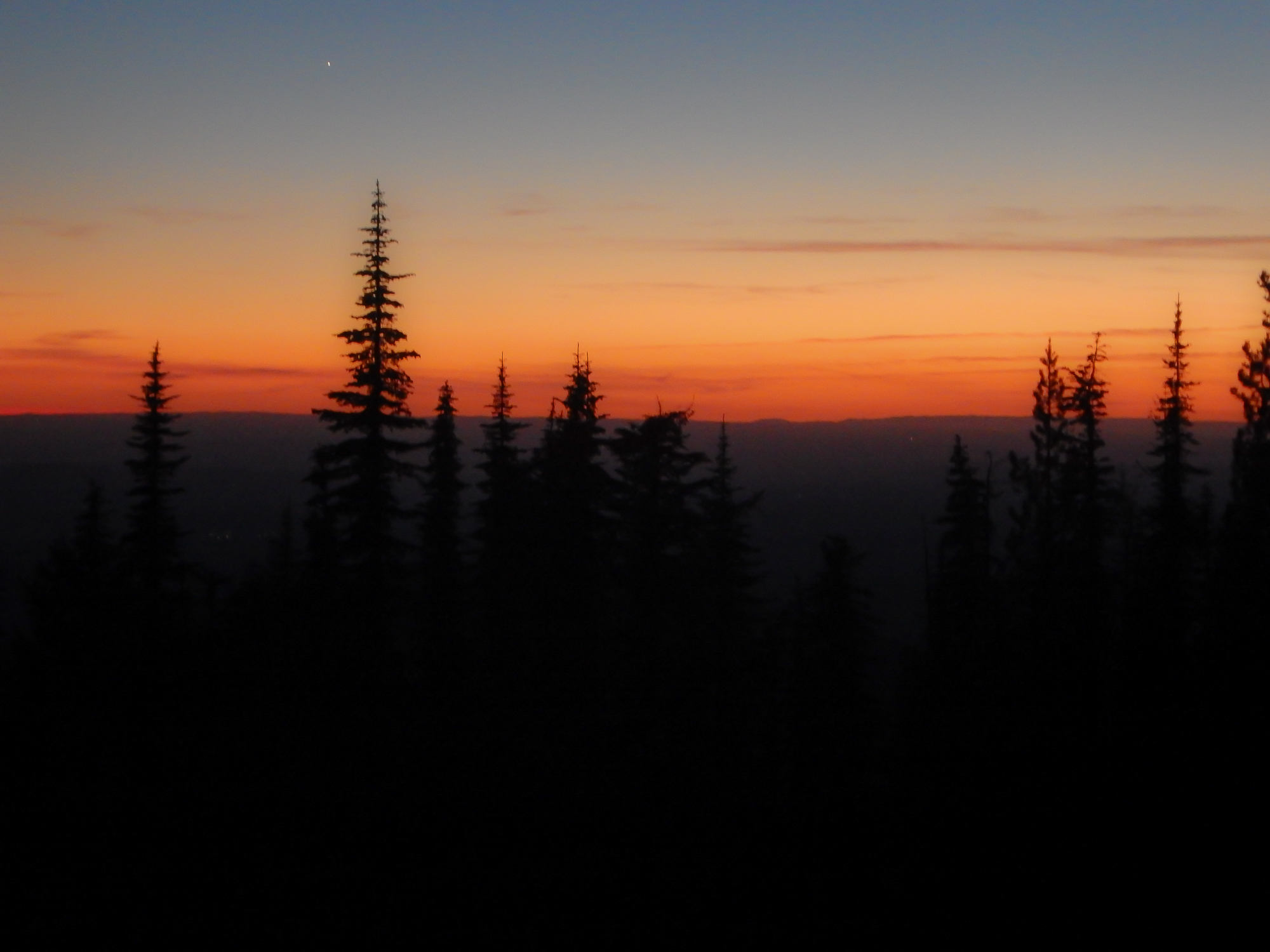 idaho backcountry discovery route sunset