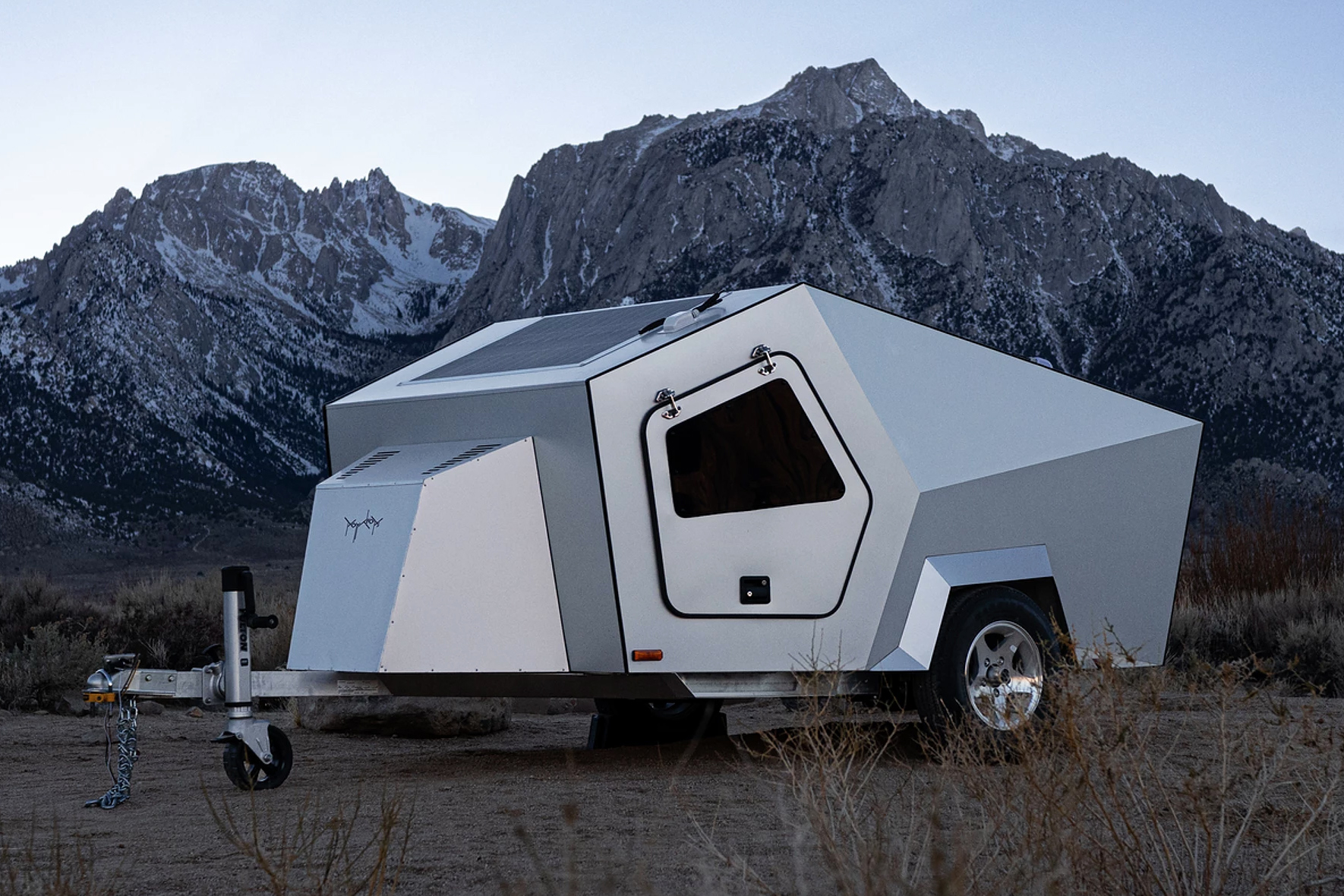 polydrop P17A travel trailer