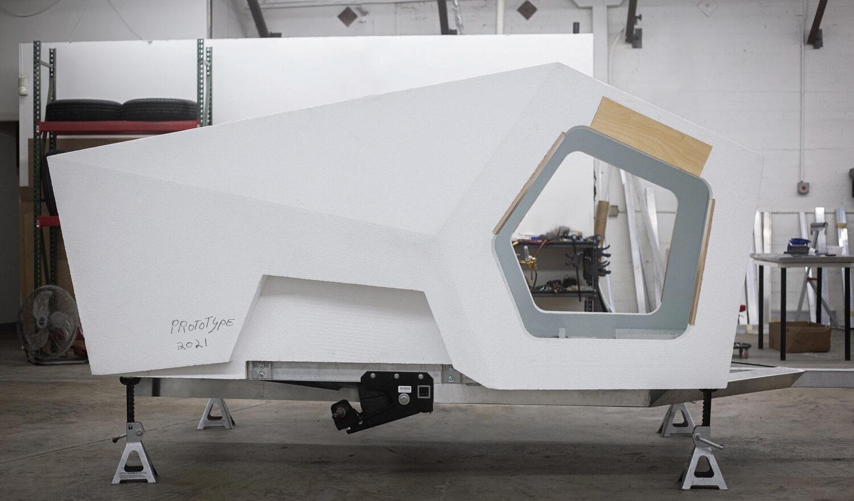 Polydrop P17A trailer in progress