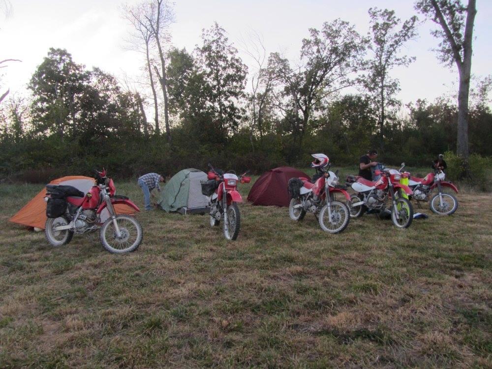Adventure Palooza camping