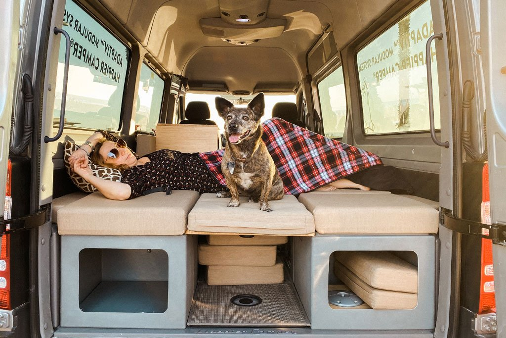 happier camper adaptiv interior for campervans