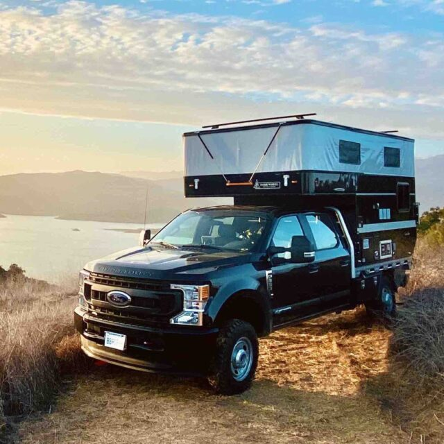 Overland Classifieds :: 2020 Ford F350 and Flatbed Four Wheel Campers Granby