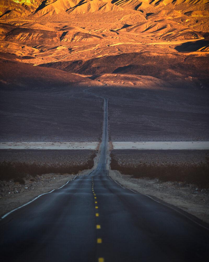 california 395 death valley