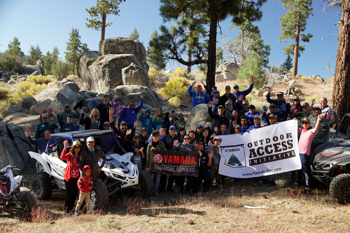 yamaha and outdoor access initiative