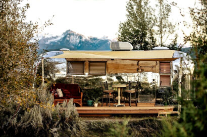 airstream rental in livingston montana