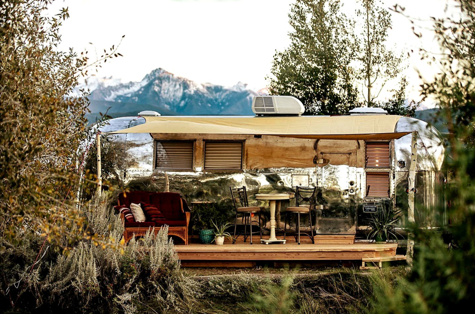 airstream rental in livingston montana