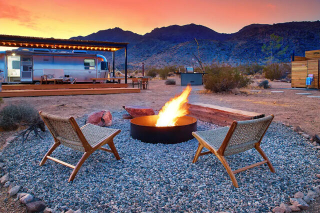airstream rentals in north america joshua tree