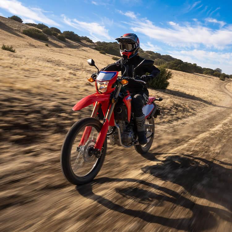 Honda CRF300L lightweight motorcycles