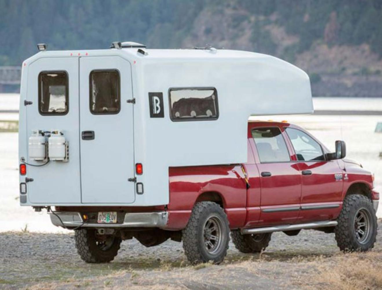 bahn camper works slide in truck camper