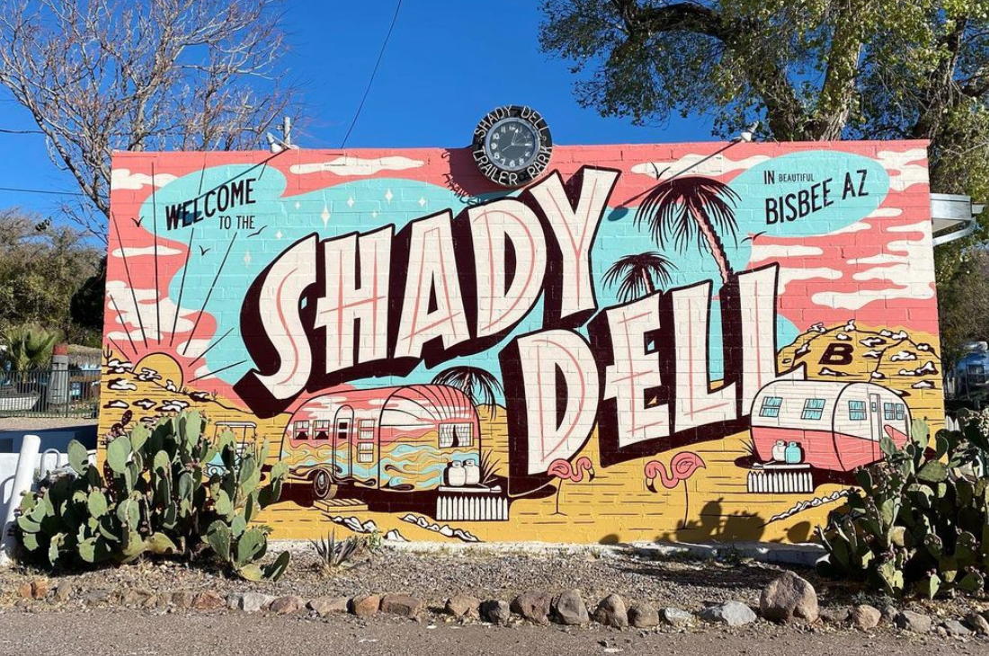 the shady dell sign