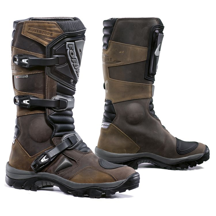 forma adventure riding motorcycle boots