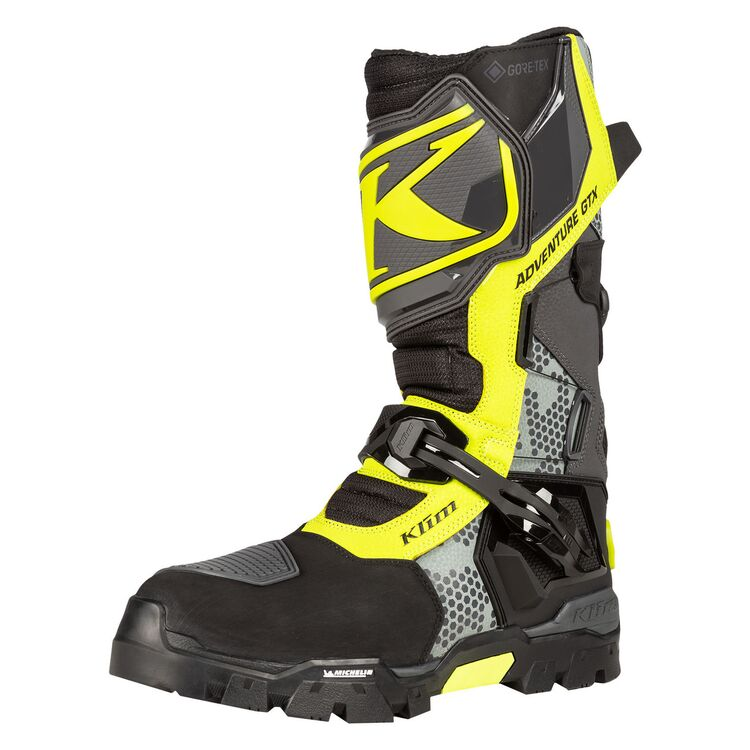 klim adventure riding motorcycle boots