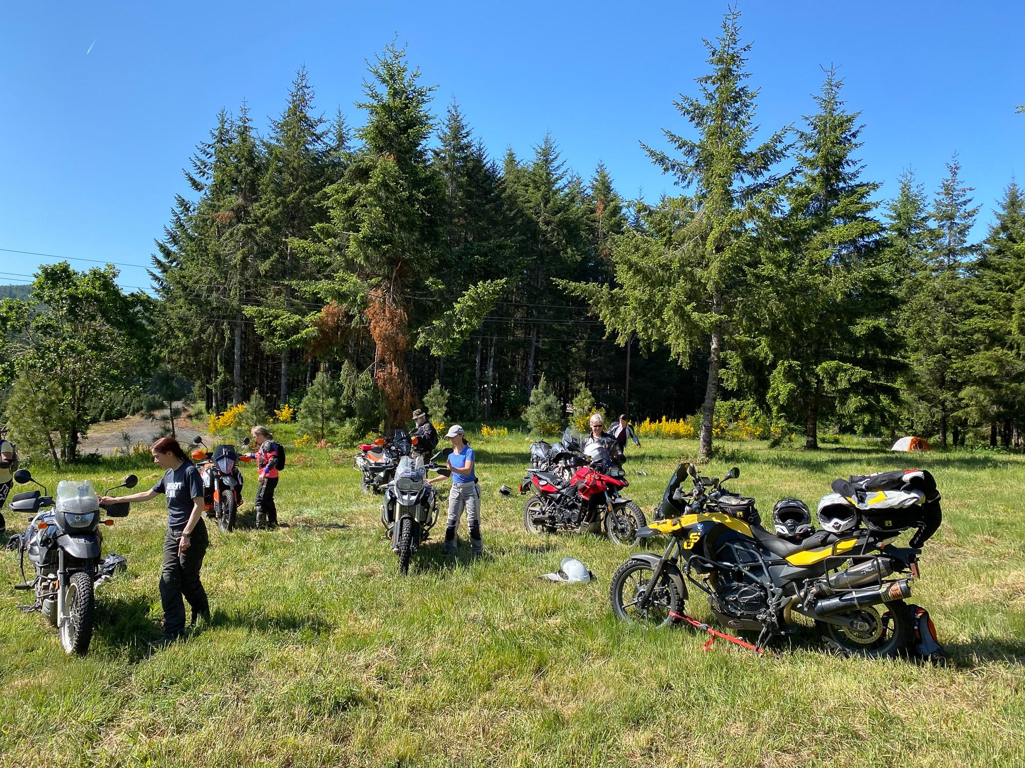 sheADV moto training course level 1/2 balance skills