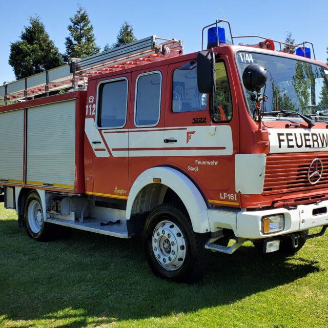 Overland Classifieds :: 1983 Mercedes 1222 4×4 Doka Fire Truck