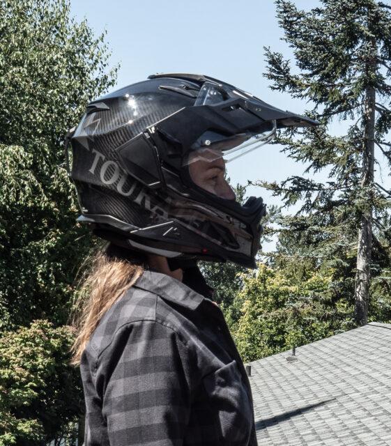 Touratech's Aventuro Carbon 2 ADV and Dual Sport helmet 2021 fit