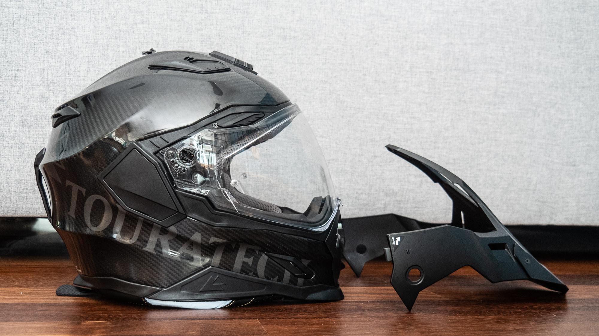 aventuro touratech helmet removable visor