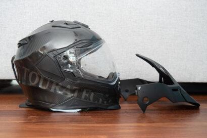 touratech's aventuro carbon 2 ADV and dual sport helmet 2021