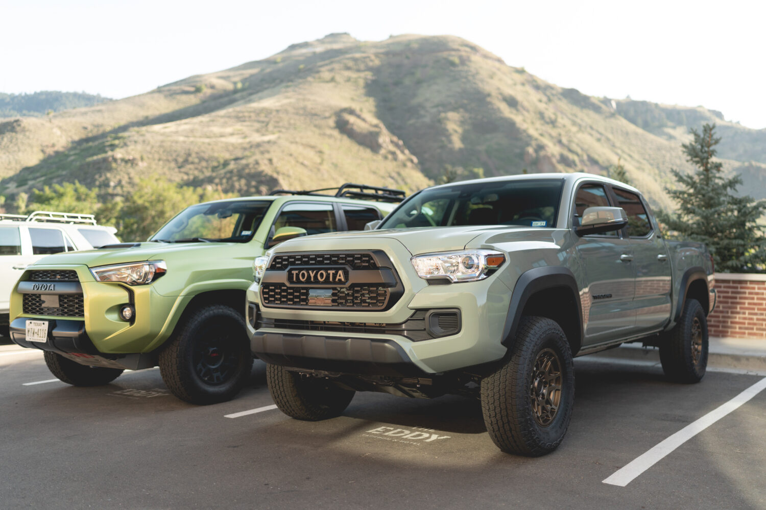 Toyota Tacoma TRD Pro and 4Runner TRD Pro