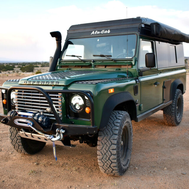 Overland Classifieds :: 1994 Land Rover Defender 90 NAS with Cummins R2.8 and Alu-Cab Conversion