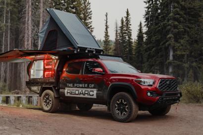 REDARC Toyota tacoma project vehicle