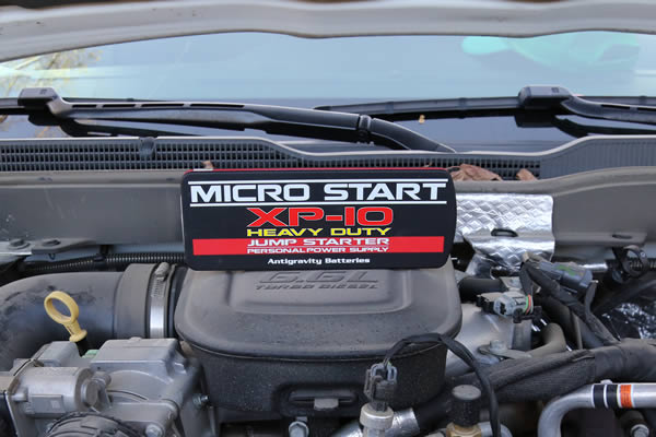 micro start diesel jumper cables