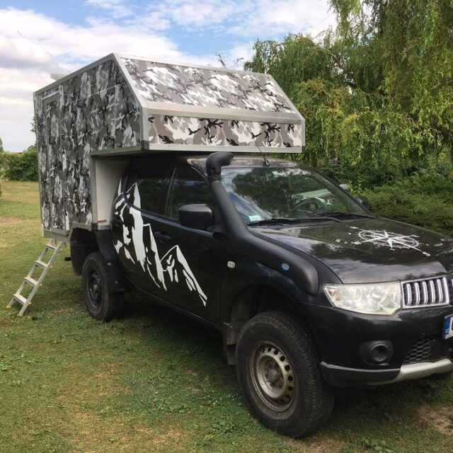 Overland Classifieds :: 2011 Mitsubishi L200 With 2020 4×4 Expedition Camper