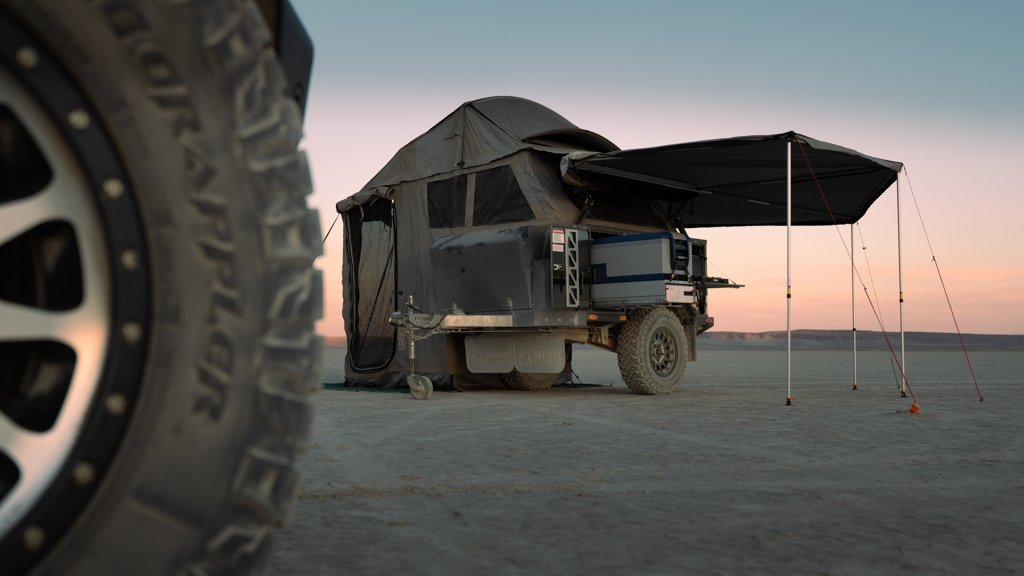 Overland Classifieds :: 2018 Patriot X1GT Off-road Trailer
