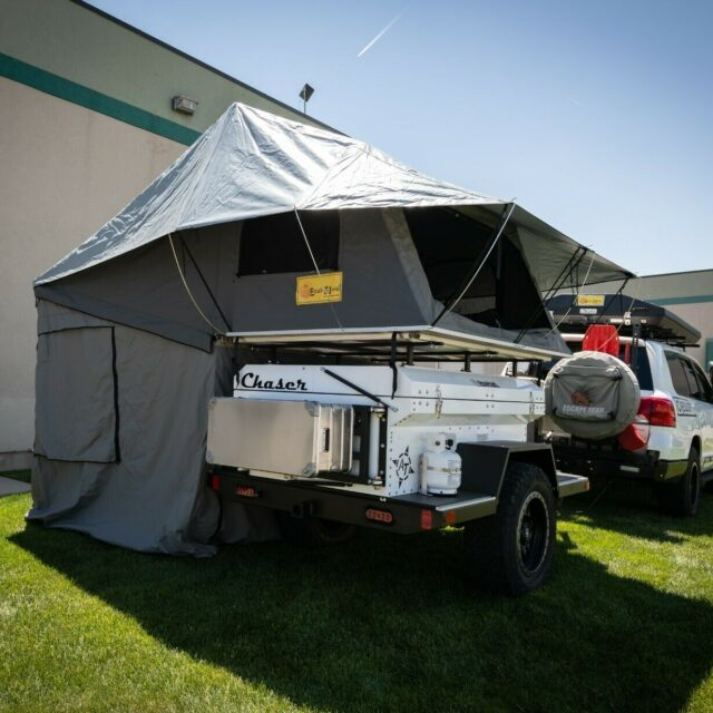 Overland Classifieds :: Equipt's Custom-Built 2019 AT Overland Chaser Trailer