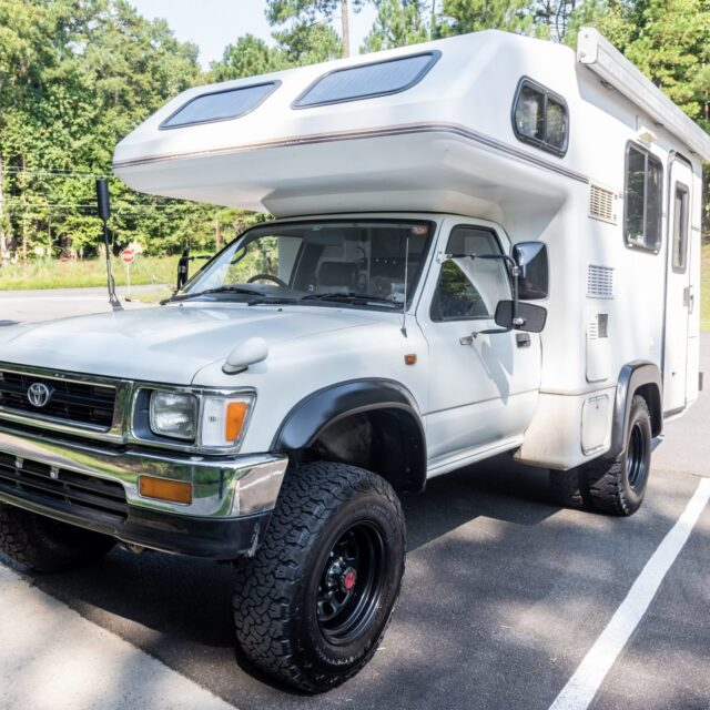 Overland Classifieds :: 1994 Toyota Hilux Galaxy Camper 5-Speed 4×4