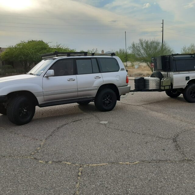 Overland Classifieds :: 1998 Toyota 100-Series Land Cruiser and Trailer